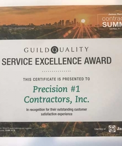 Guild Quality Service Excellence Award