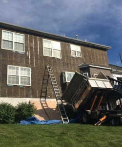 Stucco Removal and Process